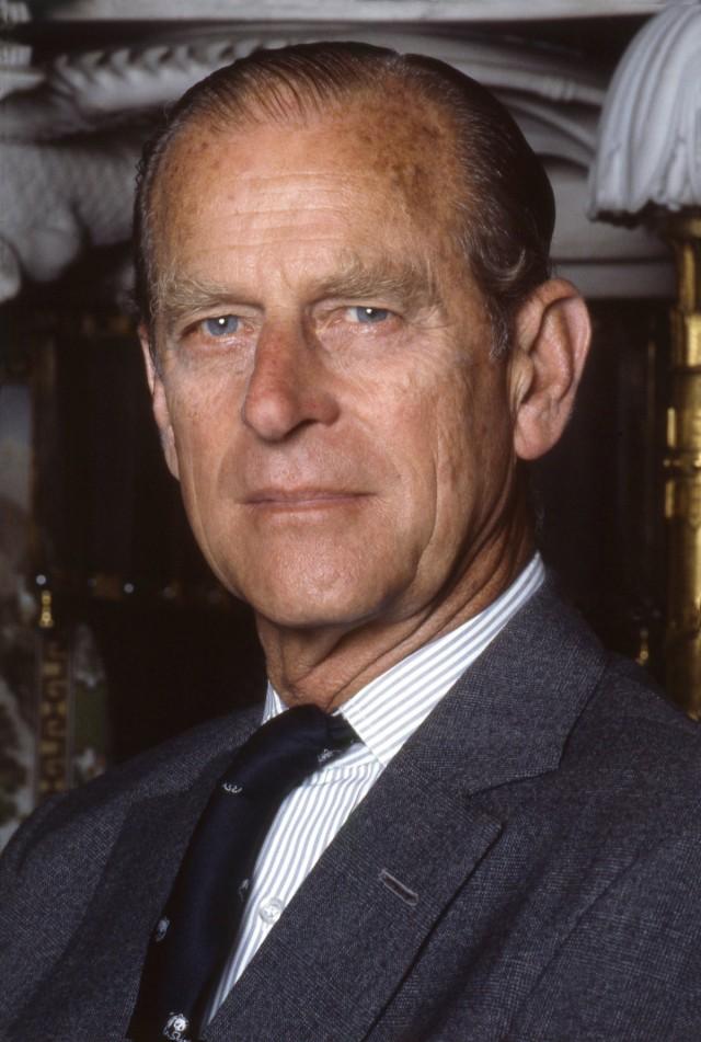 Prince Philip, Duke of Edinburgh - 1992 portrait by Allan Warren