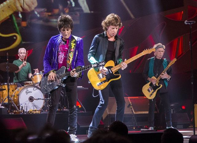 The Rolling Stones Summerfest in Milwaukee -fonte: https://commons.wikimedia.org/wiki/File:The_Rolling_Stones_Summerfest_in_Milwaukee_-_2015.jpg