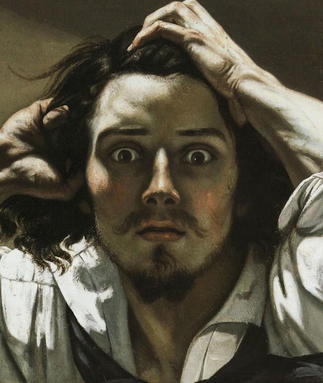 Gustave Courbet - Uomo disperato