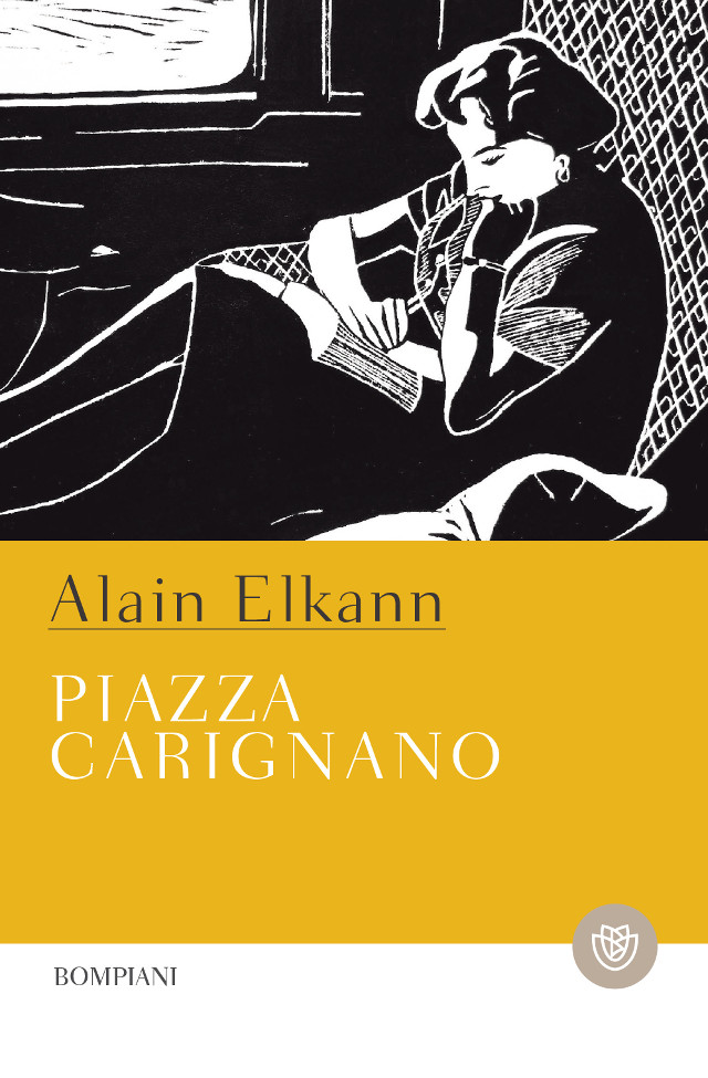 Piazza Carignano  - Alain Elkann - Bompiani