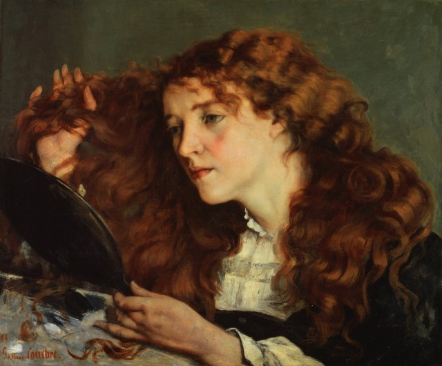 Jo, la bella irlandese - Gustave Courbet